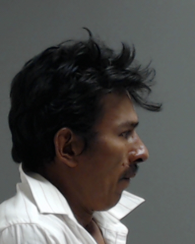 Jacobo Zelaya, 43, of Donna is charged with burglary of habitation with intent to commit a sex offense. (Photo courtesy of the Hidalgo County Sheriff's Office)<p></p>