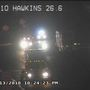 One person has died after a crash on I-10 at Hawkins