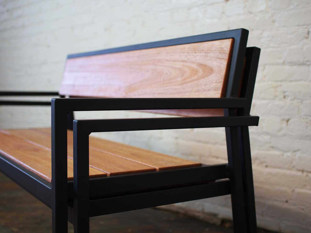Benches that you'll find at The Hannaford in Covington / Image courtesy of Sediment Design // Published: 9.24.20