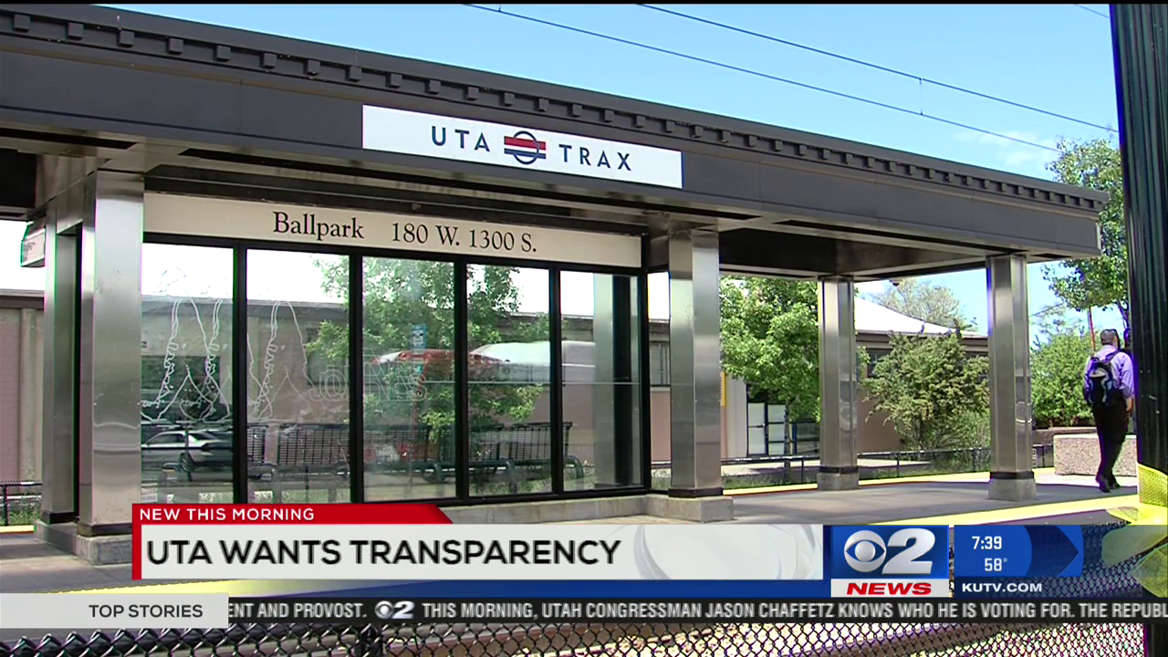 Utah transit agency cooperating with DOJ corruption probe (Photo:  KUTV)