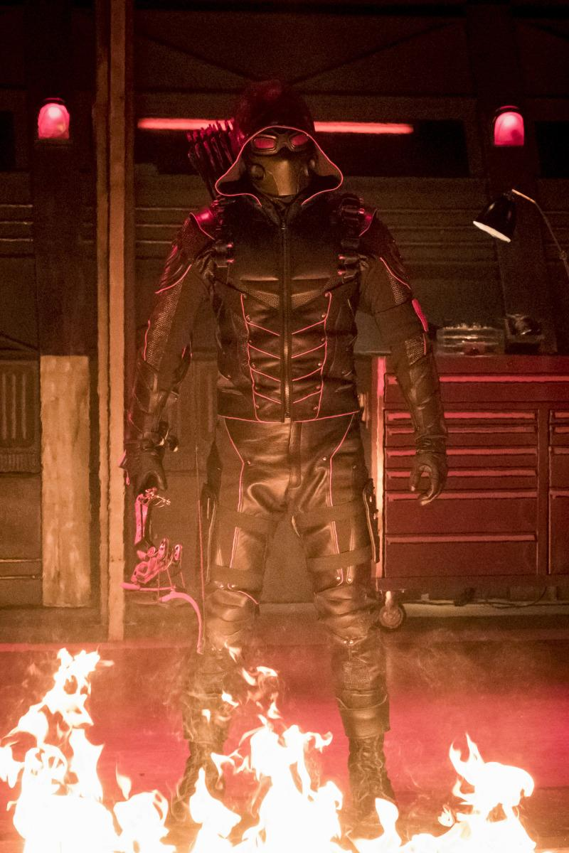 "Arrow -- ""Crisis on Earth-X, Part 2"" -- AR608b_0038b.jpg -- Pictured: Dark Arrow -- Photo: Katie Yu/The CW -- �© 2017 The CW Network, LLC. All Rights Reserved"