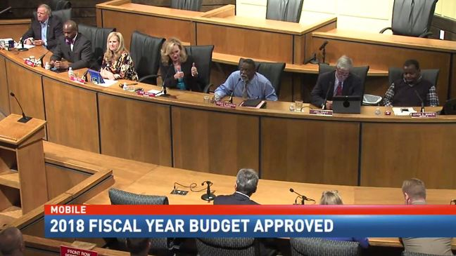 Mobile city leaders approve 2018 budget, raises included