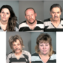 Carson City Sheriff's Deputies arrest five in Carson City on various charges