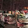 18 vehicles involved in Maryland I-270 crash; multiple serious injuries reported