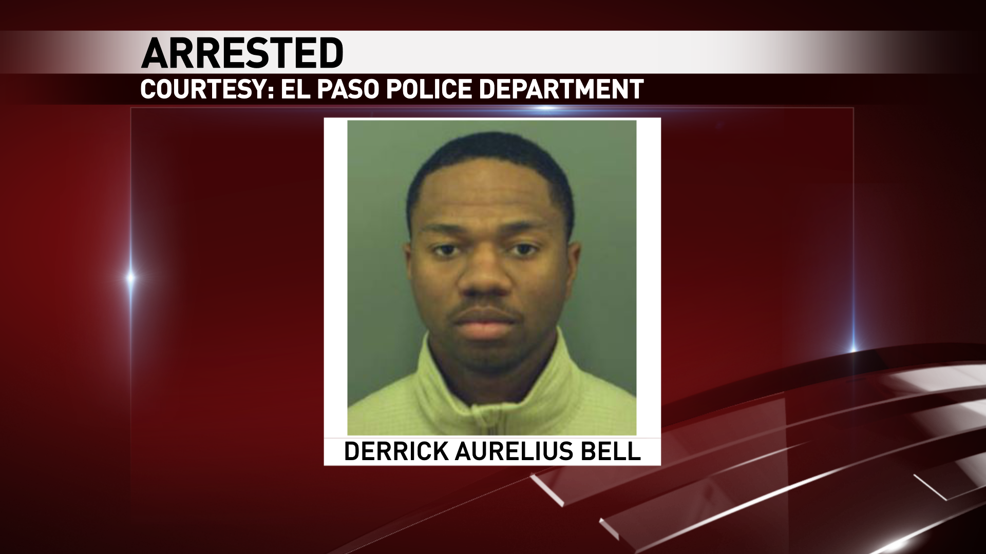 Derrick Aurelius Bell, 25, was arrested on a charge of insurance fraud.