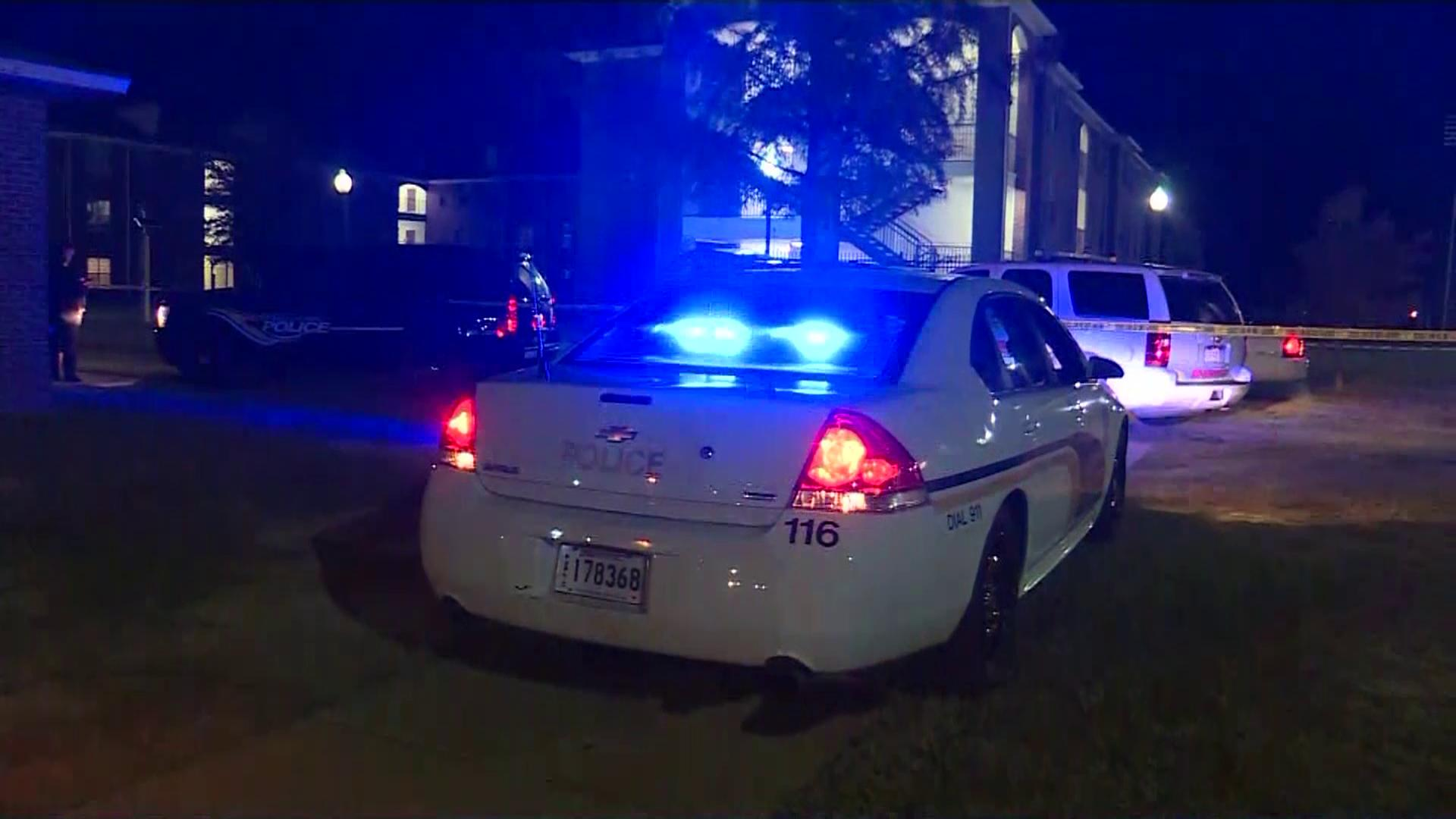 <p>Lincoln Parish Sheriff's spokesman Stephen Williams says detectives are at the scene of the double homicide, assisting campus police. (Courtesy:{&amp;nbsp;}KNOE/ CNN Newsource)</p>