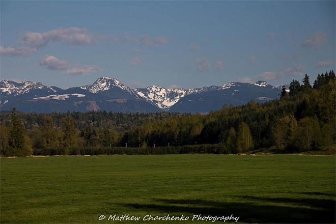 Mountains outside Carnation, Washington (Photo: Matthew Charchenko)