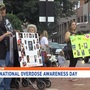 International Overdose Awareness Day: 'Not One More' hosts rally