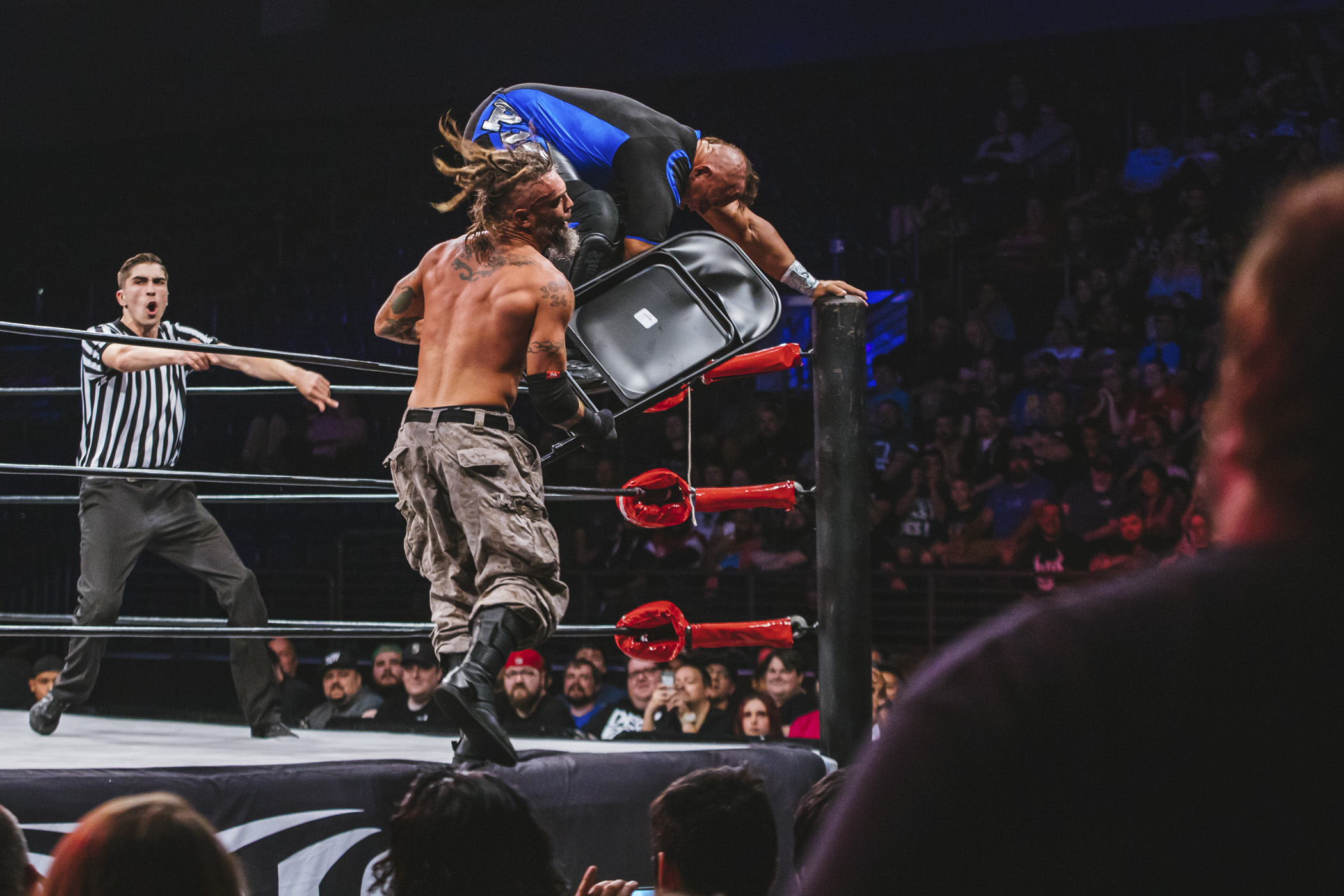 "Ring of Honor blazed through Kent, WA yesterday (June 1, 2019) finally making it's long-awaited Pacific Northwest debut. The event streamed worldwide for HonorClub, where ROH World Champion Matt Taven took on ""Hot Sauce"" Tracy Williams, and Jay Lethal a Best-of-Three Series with Kenny King (who you may recognize from 'The Bachelorette')...(Image: Sunita Martini / Seattle Refined)"