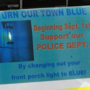 Hardware stores prepare early for blue LED light demand in support of law enforcement