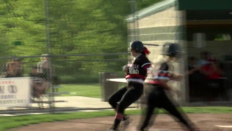 5.8.19 Highlights - Steubenville softball wins sectional championship vs Maysville