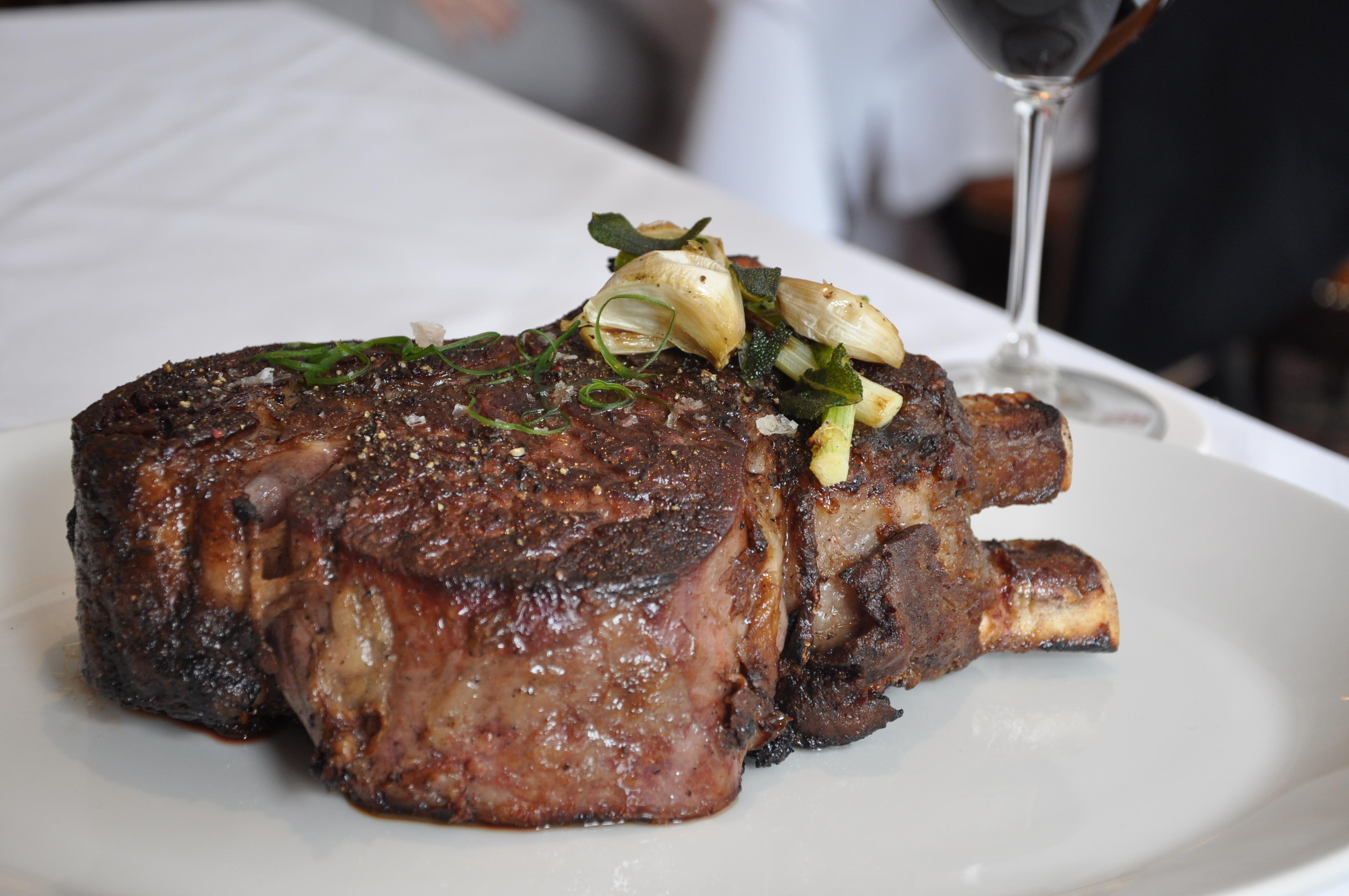 There's enough meat for two or three diners on the 50-ounce double bone Union Chop. (Image: Courtesy Rare Steak &amp;amp; Seafood){&amp;nbsp;}<p></p>