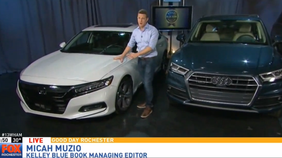 Kelley Blue Book names \'Best Buy\' cars for 2018 | WUHF