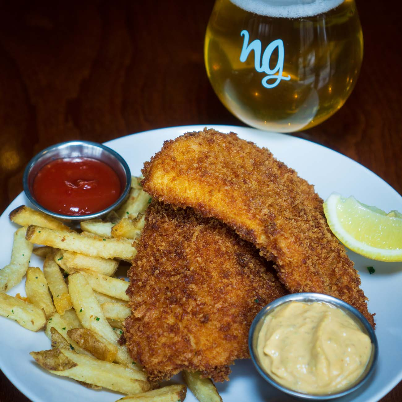 PLACE: Nine Giant / ADDRESS:{ }6095 Montgomery Road (45213)  / Fish & Chips / Image:{ }KathyOConnell // Published: 2.18.21