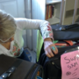 OOB woman travels to St. Martin with hundreds of pounds of donations