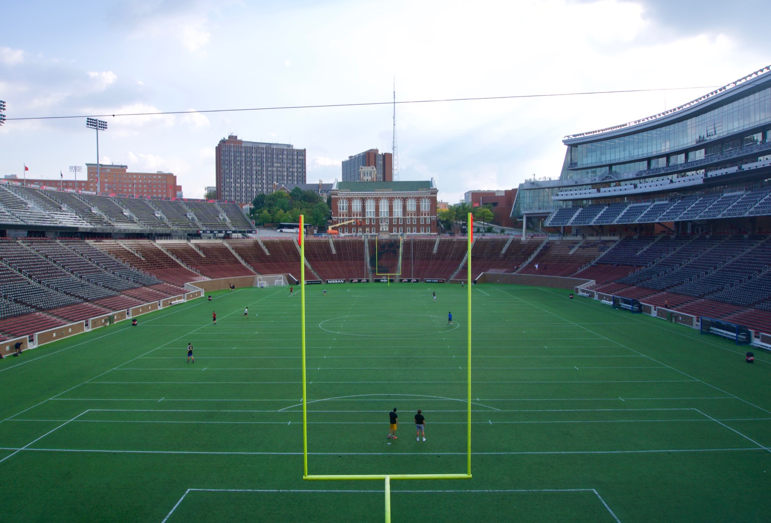 1. IT'S REALLY FREAKING OLD: Completed in 1924, the stadium is the sixth oldest stadium in college football, behind only those of Harvard, Georgia Tech, Princeton, Yale, and Cornell. / Image: Brian Planalp // Published: 10.21.17