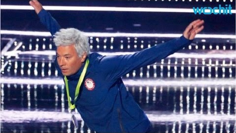 Jimmy Fallon shocks with his Ryan Lochte impression at VMAs