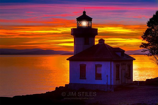San Juan Island sunset (Photo: Jim Stiles)