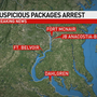 Officials: Arrest made after suspicious packages sent to DC area government facilities