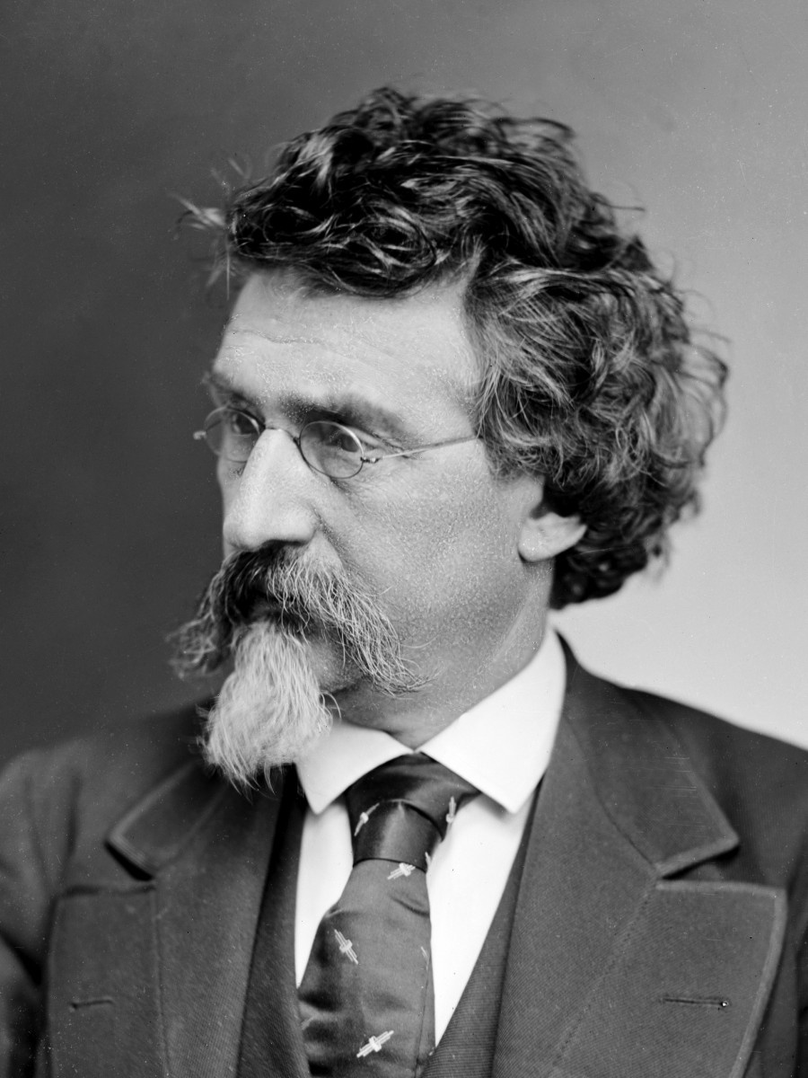 <p>Mathew Brady is considered the father of photojournalism. Brady was known for capturing scenes from the Civil War on both sides. Although he was aided by assistants, Brady photographed 18 presidents and created some of the most iconic images of the era. Brady's career faltered by the end of the war and he died alone. (Image via Public Domain)</p>