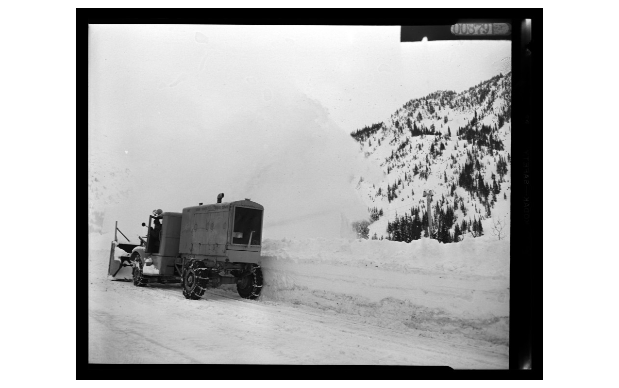 Avalanches are part of life in Little Cottonwood Canyon. (Utah State Archives){ }