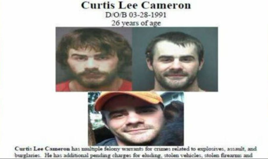 Curtis Lee Cameron (Photo from Skagit County Sheriff's Offce)