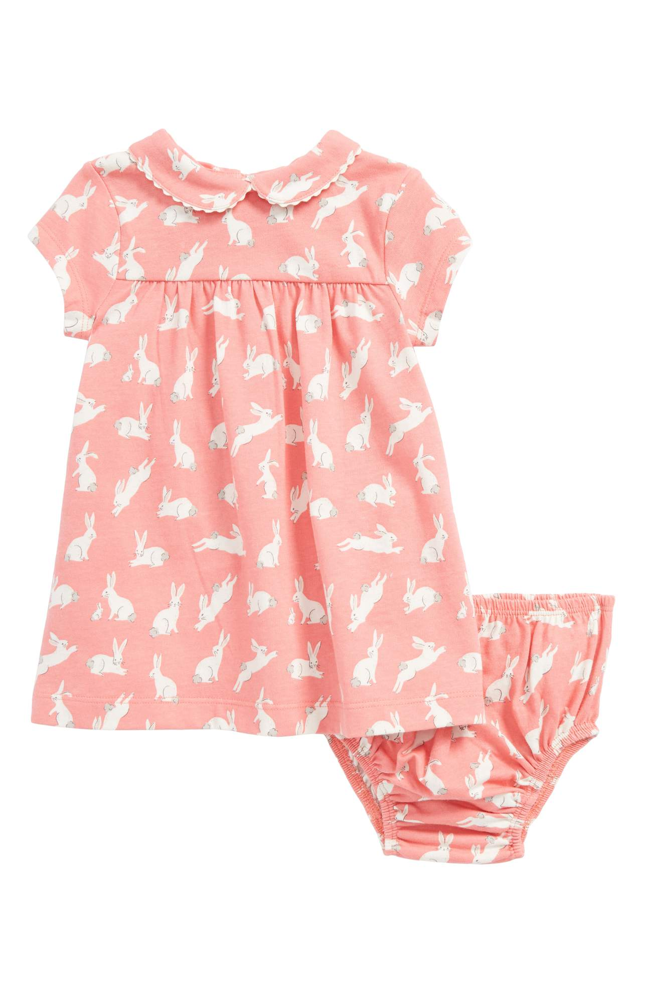 Let's start things off with the 'smallest' family members.{&amp;nbsp;} Adorable cottontail bunnies hop around on this super-soft cotton-jersey dress topped with a sweet Peter Pan collar. Perfect for the little babe in your life. Price: $34 at Nordstrom{&amp;nbsp;}<p>(Image: Nordstrom)</p>