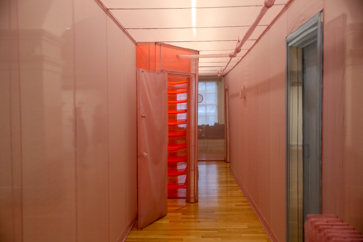 Artist Do Ho Suh has lived in Seoul, Berlin and New York, but his new installation at the Smithsonian American Art Museum speaks to being homesick and on the move. The exhibition, which opens March 16 and closes August 5, features ephemeral, brightly-colored sculptures of hallways that replicate where Suh has lived - hence the name 'Almost Home'. Visitors can walk through the halls of gauzy fabric, but the small details and bright hues are almost a guarantee that the Instagram crowds will be flocking here. However, don't skip out on checking out Suh's other fabric sculptures in the exhibition, which are both quirky and delicate. (Amanda Andrade-Rhoades/DC Refined)