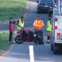 EMS crews respond to motorcycle crash on Highway 153 ramp Friday afternoon