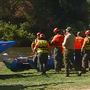 Search and rescue crews pull person out of river near Lake Ming