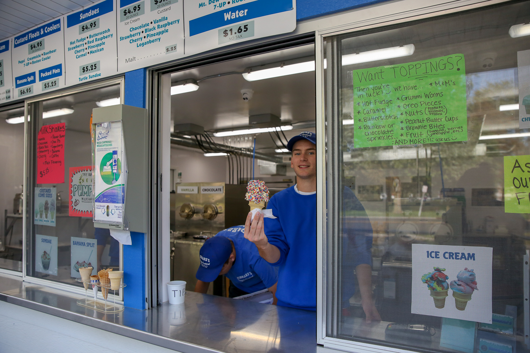 Hibbard's Frozen Custard in Lewiston is a mainstay for a reason.{ }(Amanda Andrade-Rhoades/DC Refined)