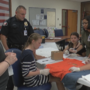 Franklin M.S. students prepare for forensics competition with help from Yakima Police