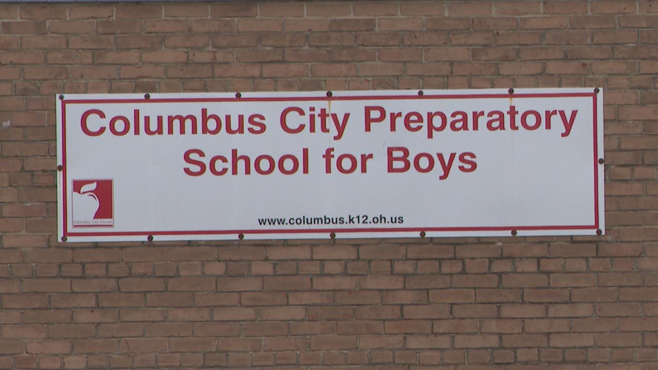 "A 13-year-old student at the Columbus City Preparatory School for Boys is under investigation after he reportedly used his teacher's credentials to get into the district's system, posted personal information of his fellow students to a website, and made threats that he was going to ""shoot up their houses.""{ } (WSYX/WTTE)"