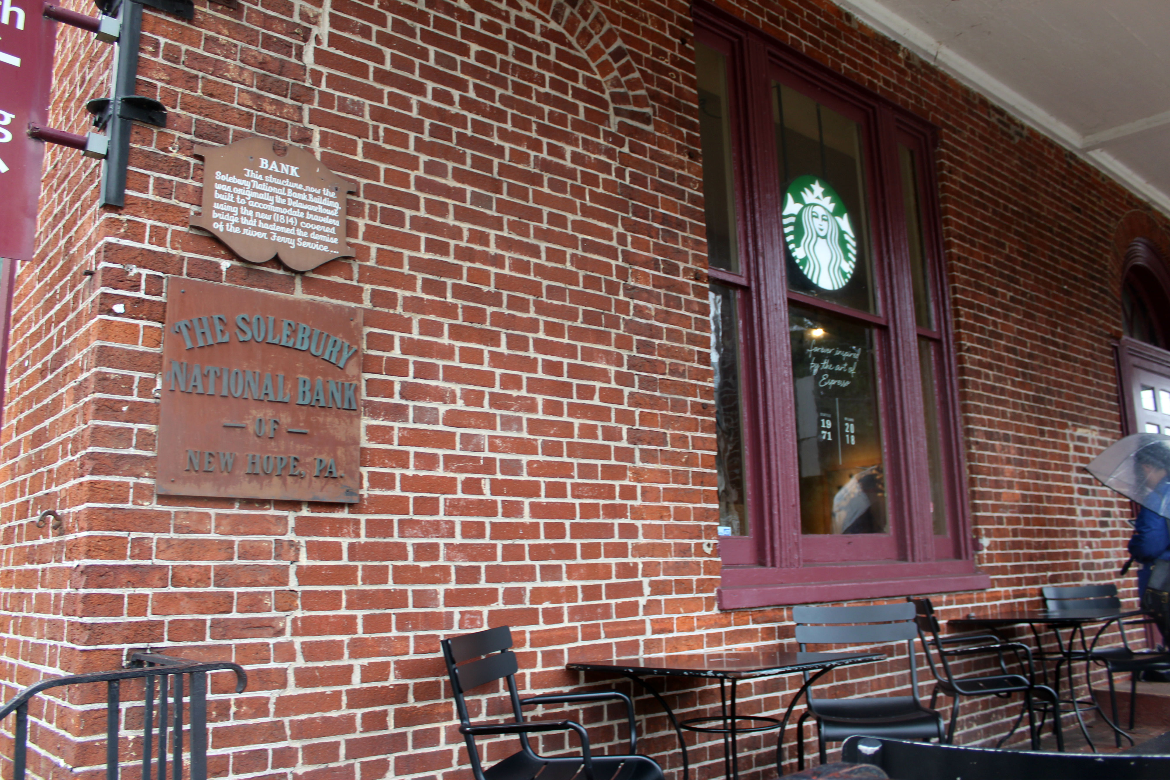 Even New Hope's Starbucks was in a historic building!{&nbsp;}(Image: Julie Gallagher)<p></p>