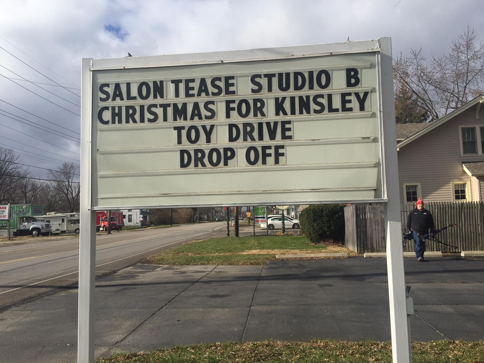 'Christmas for Kinsley' collects toys in remembrance of toddler who was beaten to death (WKEF/WRGT)