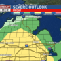 Severe Weather Risk in Mid-Michigan