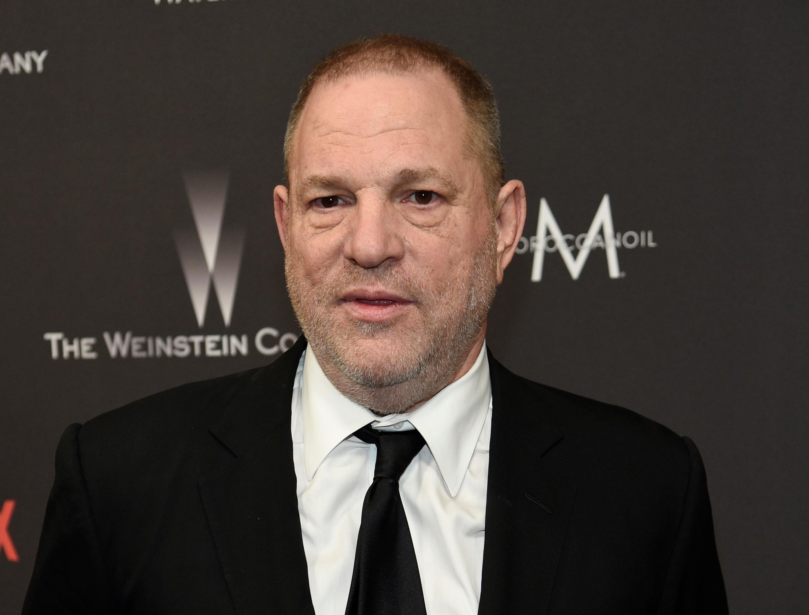 "FILE - In this Jan. 8, 2017, file photo, Harvey Weinstein arrives at The Weinstein Company and Netflix Golden Globes afterparty in Beverly Hills, Calif.  Weinstein is accused by dozens of women of sexual harassment or assault. He was fired by The Weinstein Co., expelled from various professional guilds and is under investigation by police departments in New York, London, Beverly Hills and Los Angeles. He denies all allegations of non-consensual sex, but he has apologized for causing ""a lot of pain"" with ""the way I've behaved with colleagues in the past."" (Photo by Chris Pizzello/Invision/AP, File)"