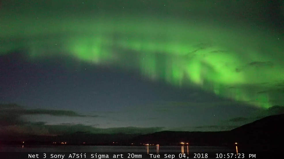 Live camera lets you watch the Northern Lights over Iceland in real time